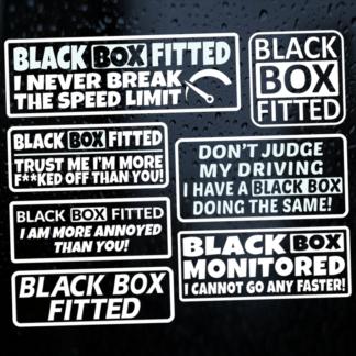 Black Box Stickers