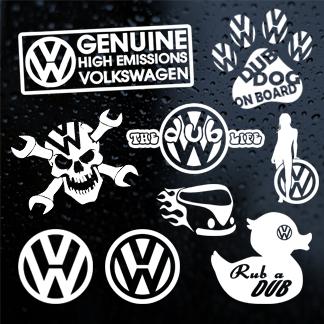 Volkswagen (VW) Stickers
