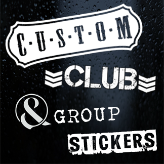 Custom, Club & Group Stickers