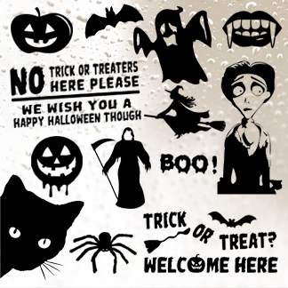 Spooky & Halloween Stickers