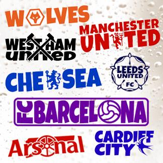 Football Team Stickers