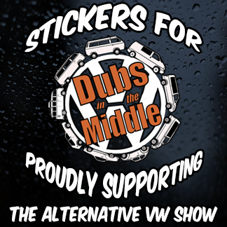 DITM VW Show Support Stickers
